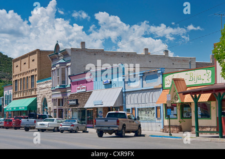 Grand Avenue in Paonia, West Elk Loop Scenic Byway, Colorado, USA - Stockfoto
