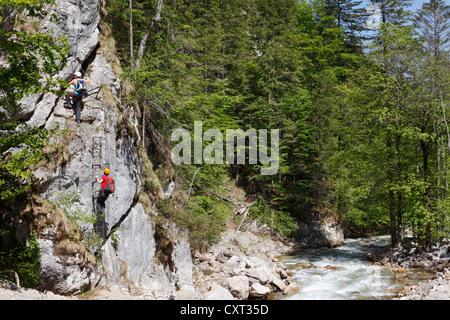 Klettersteig Johnsbach : Klettersteig in der nähe von johnsbach nationalpark gesäuse