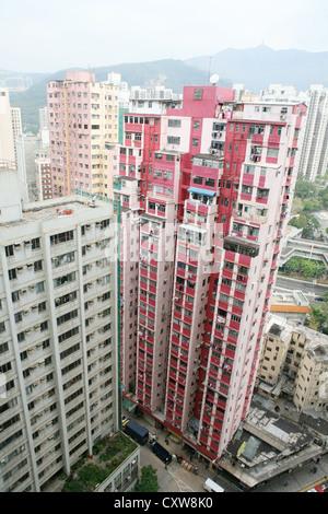 Pension in Hong Kong - Stockfoto