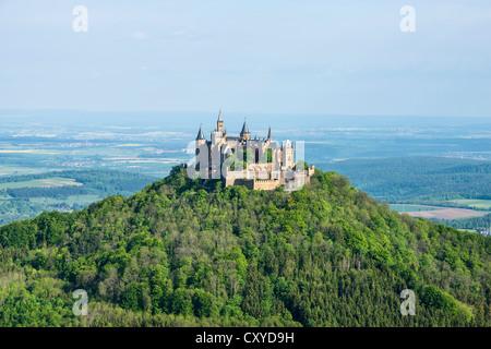 Deutschland Zollernalbkreis Burg Hohenzollern Zollernalb Ort Von Interesse Burg Festung Hohenzollern Schnee Winter Stockfotografie Alamy