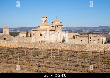 Kloster Poblet, Teil der Zisterzienser-Route in Tarragona, Katalonien, Spanien, Europa - Stockfoto