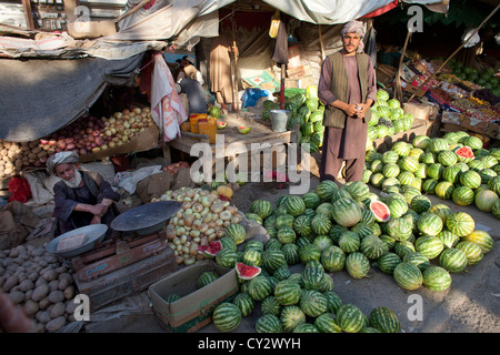 Ladenbesitzer in Kabul, Afghanistan - Stockfoto