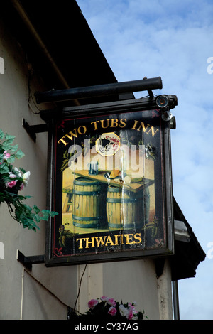 Twaites zwei Wannen Inn begraben, 1 Wylde, Stadtzentrum, begraben, BL9 0LA, Lancashire, UK - Stockfoto