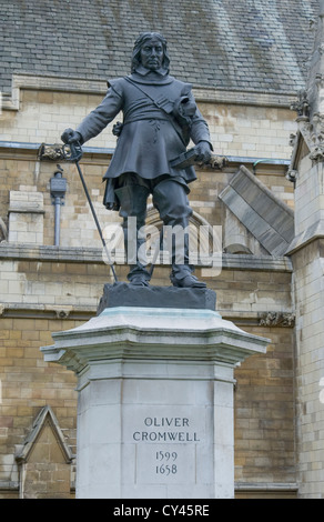 Oliver Cromwell 1599 - 1658 - Stockfoto