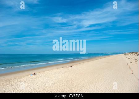 Praia da Quinta do Lago Strand, Algarve, Portugal - Stockfoto