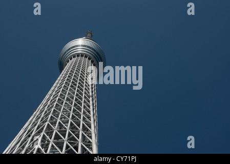 Tokyo Skytree auf 634m, ist der höchsten freistehenden Fernsehturm der Welt. Sumida Tokio Japan - Stockfoto