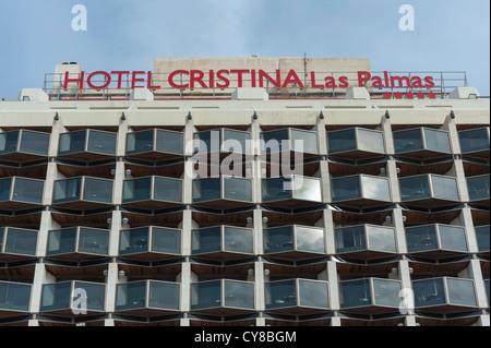 Hotel Cristina Las Palmas Gran Canaria Kanaren Spanien Durch Das
