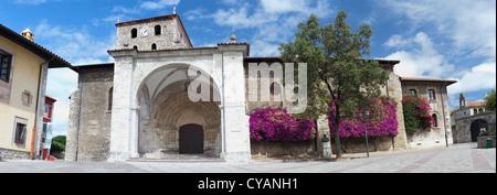 Llanes Dorf. Asturien, Spanien - Stockfoto