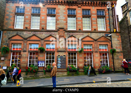The Scotch Whisky Erfahrung, Castlehill, Edinburgh, Schottland - Stockfoto