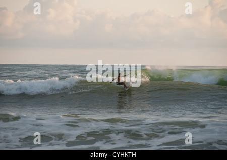 Surfer Nicoya Halbinsel Santa Teresa costarica - Stockfoto