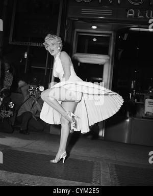 Marilyn Monroe Seven Year Itch 1955 Direktor: Billy Wilder - Stockfoto
