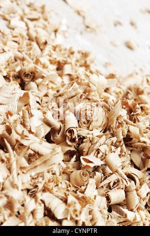 Nahaufnahme von einem Holz-Späne - Stockfoto