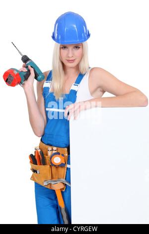 Weiblich-Generator - Stockfoto