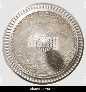 Eine Deutsche Münze Snakeskin Becher Mit Deckel Datiert 1723 Silber