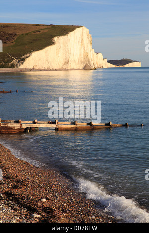 Sieben Schwestern Seaford Head East Sussex England UK GB - Stockfoto