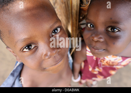 AFRIKANISCHEN KINDES - Stockfoto