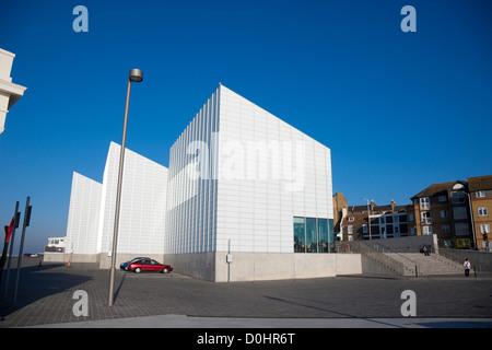 Ein Blick in Richtung der neuen Turner Galerie in Margate. - Stockfoto