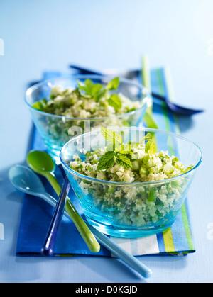 Grüne Taboulé - Stockfoto