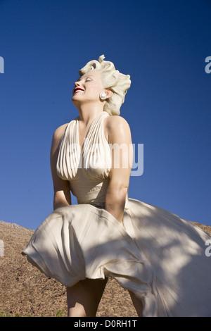 Ewig Marilyn Monroe - Stockfoto