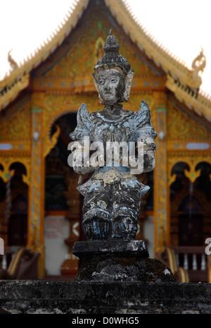 Dorf, Ban Pha, Tempel, Ngiew, Phrao, Chiang Mai, Thailand, Asien Stockfoto
