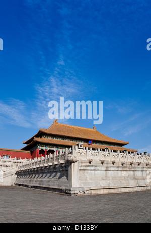 Die Verbotene Stadt von China - Stockfoto