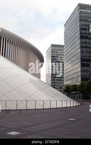 Architekt Luxemburg luxemburg stadt hauptstadt luxemburg la philharmonie luxembourg