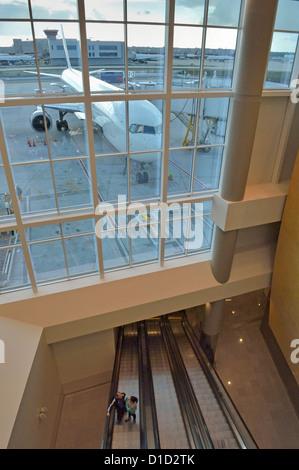 Internationalen Abflughalle Hartsfield-Jackson Atlanta internationaler Flughafen Atlanta Georgia USA - Stockfoto