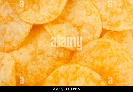 viele full-Frame-Nahaufnahme-Chips - Stockfoto