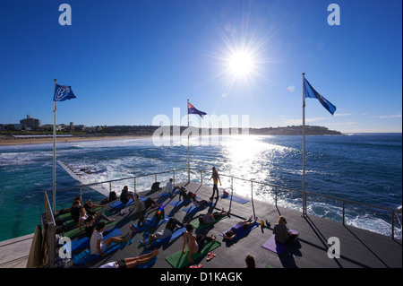 Bondi Icebergs, Sydney, New South Wales Australien - Stockfoto