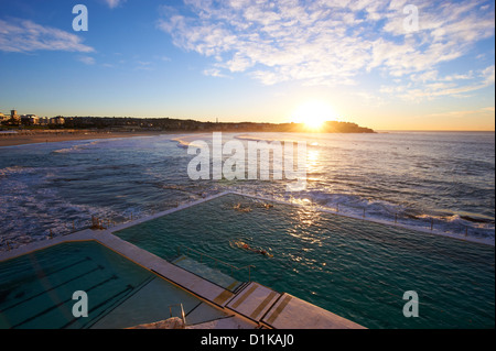 Bondi Icebergs, Sydney, New South Wales Australien - Stockfoto