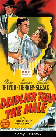 Filmplakat Tödlicher Als Das Männchen Born To Kill Lady Der