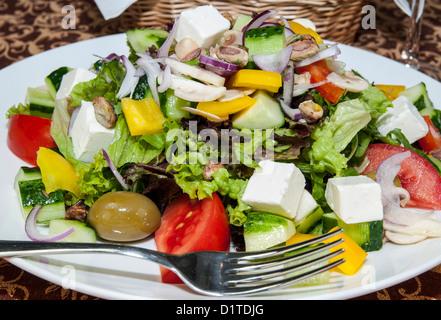 Griechischer Salat - Stockfoto