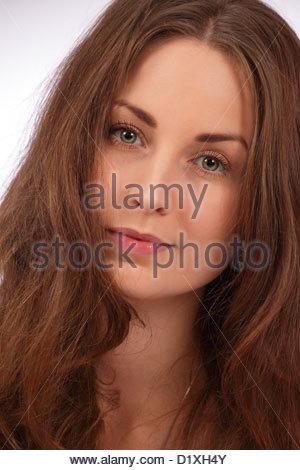 Schöne Frau - Stockfoto