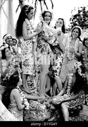 DER Hurrikan 1937 Samuel Goldwyn Company-Film mit Dorothy Lamour - Stockfoto