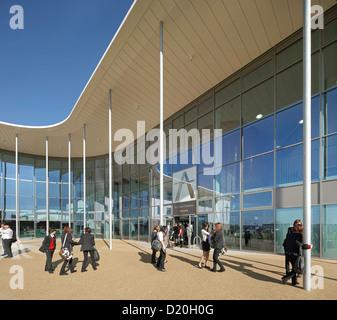 Alle Heiligen Akademie, Chelteham, Vereinigtes Königreich. Architekt: Nicholas Hare Architekten LLP, 2012. Detail - Stockfoto