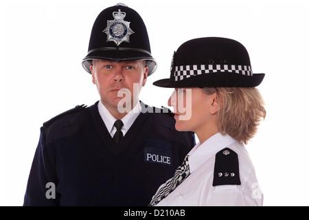 Weibliche Polizist Uniform Großbritannien