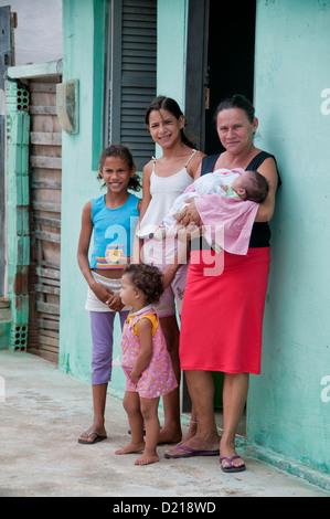 Brasilianischen Nordosten Familie - Stockfoto