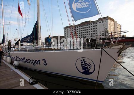 London, UK. 12. Januar 2012. Der London Boat Show in Excel. - Stockfoto