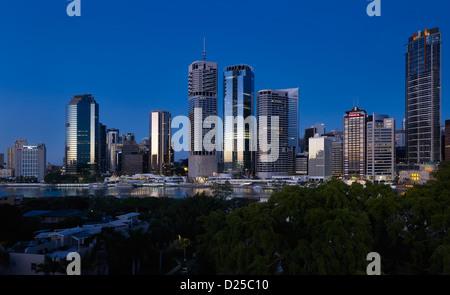 Stadtbild von Brisbane Queensland Australien - Stockfoto