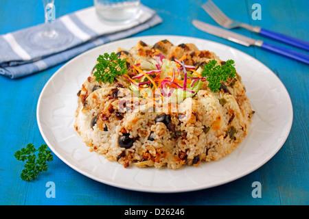Griechischer Reis Krone. - Stockfoto