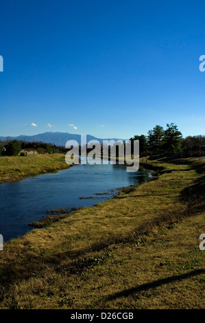 Mt. LeConte, Little Pigeon River - Stockfoto