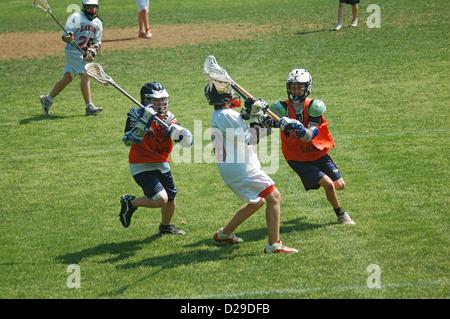 Virginia. Lacrosse-Spiel - Stockfoto