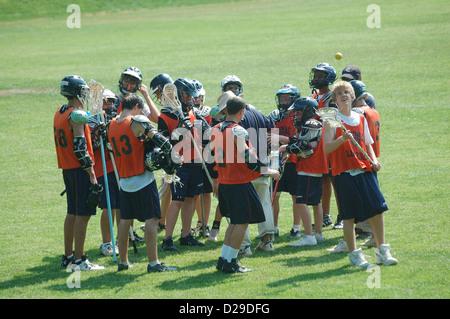 Virginia, Lacrosse-Team. - Stockfoto