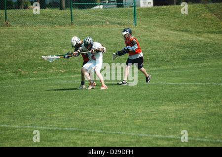 Virginia, Lacrosse-Spiel - Stockfoto