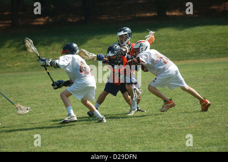 Lacrosse-Spiel - Stockfoto