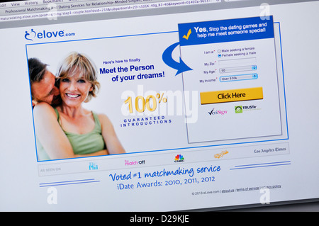 Reife und einzelne Dating-Website