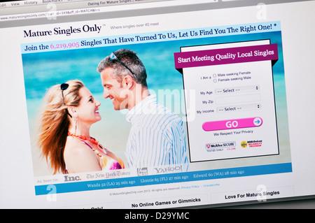 reife Online-Dating