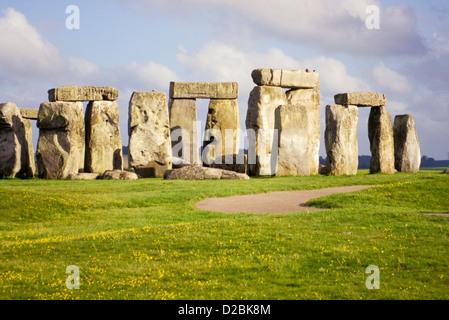 Stonehenge in Wiltshire, England. - Stockfoto