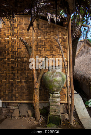 Sasak Stamm Dorf, Insel Lombok, Indonesien - Stockfoto