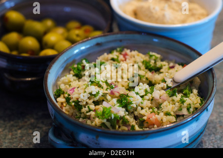 Taboulé Salat - Stockfoto